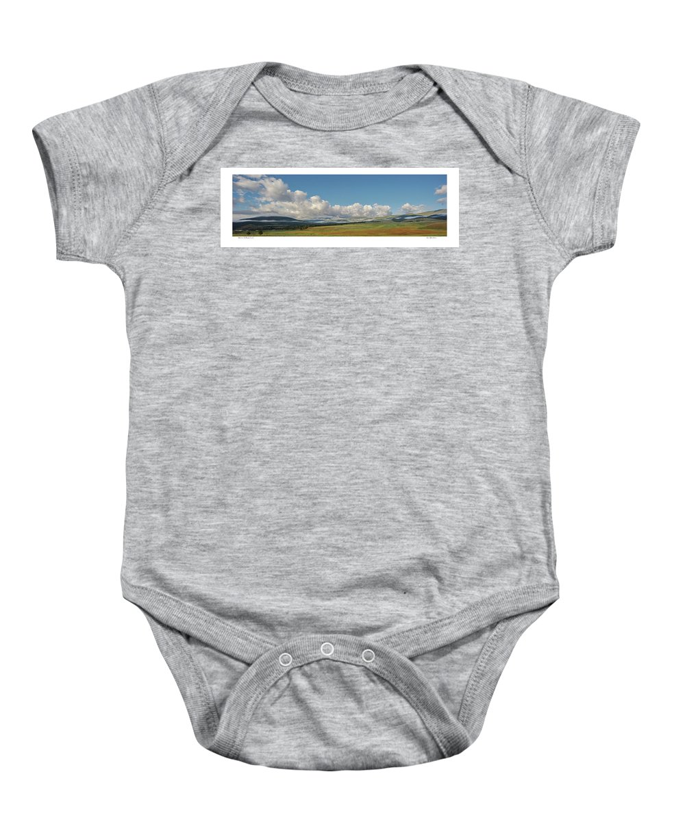 Clouds Baby Onesie featuring the photograph Moreno Valley Clouds by Ron Weathers