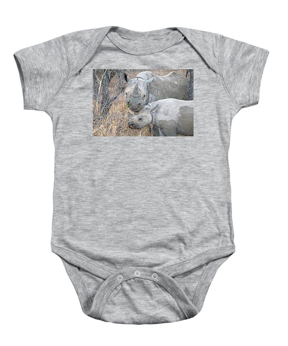 Africa Baby Onesie featuring the photograph Mother And Child by Paul Fell