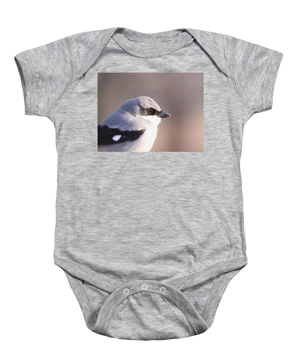 Baby Onesie featuring the photograph Mug Shot Of The Bandit by Travis Truelove