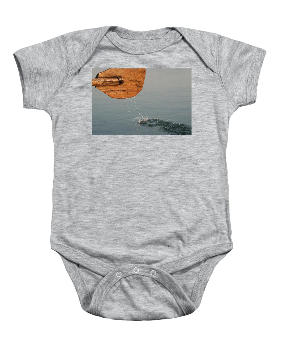 Boat Baby Onesie featuring the photograph On The Way by Fotosas Photography