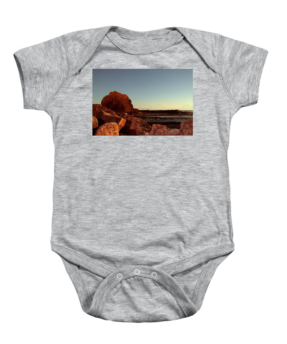 Beaches Baby Onesie featuring the photograph Other World This World by Rebecca Akporiaye