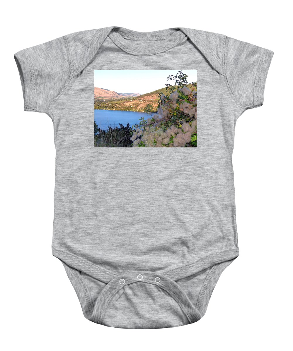 Vista 16 Baby Onesie featuring the photograph Vista 16 by Will Borden
