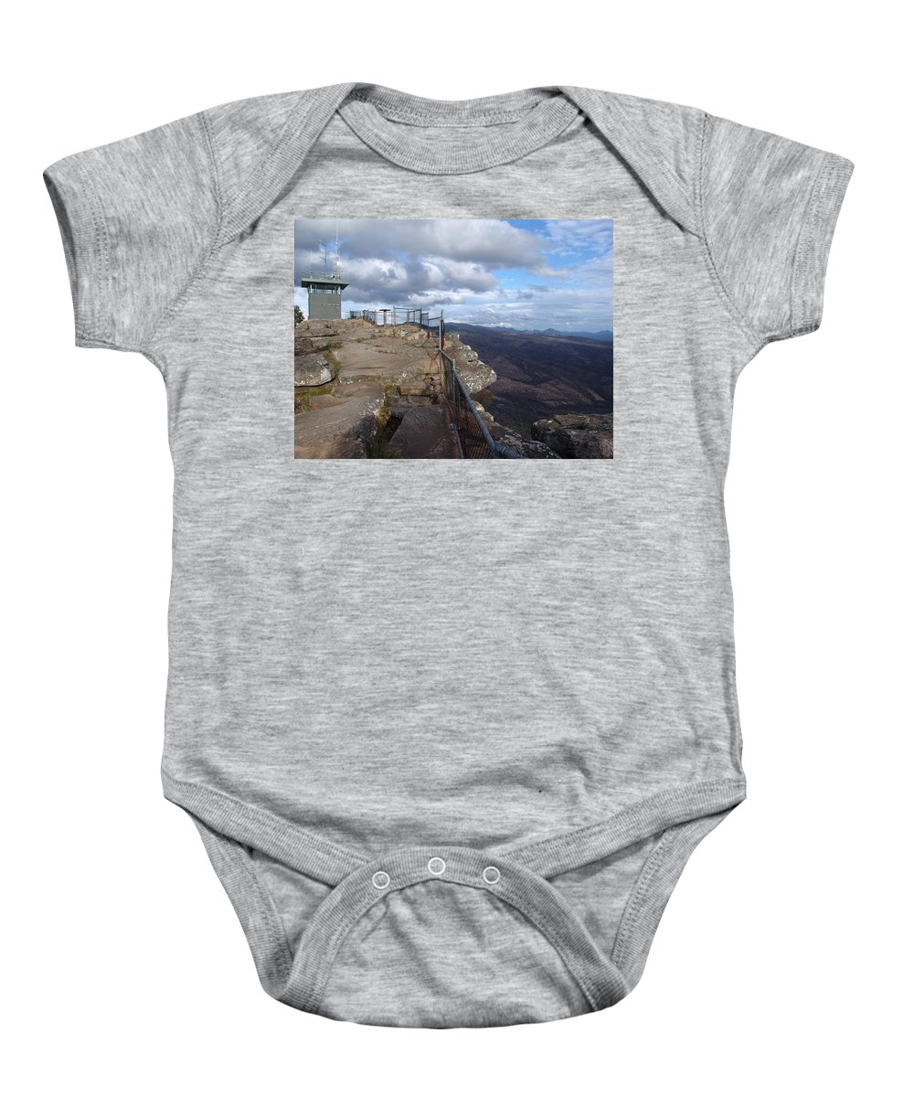 Mountain Baby Onesie featuring the photograph Valley Views by Ian Mcadie