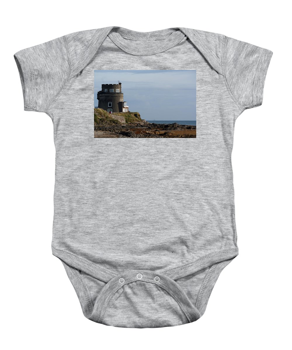 Portmarnock Ireland Baby Onesie featuring the photograph Portmarnock 0001 by Carol Ann Thomas