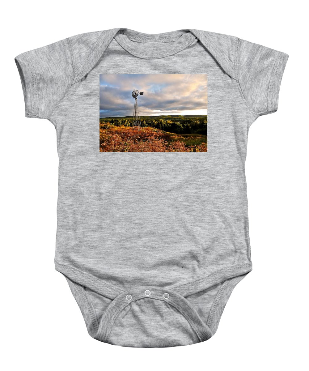 North Marica Baby Onesie featuring the photograph Route 125 by Juergen Weiss