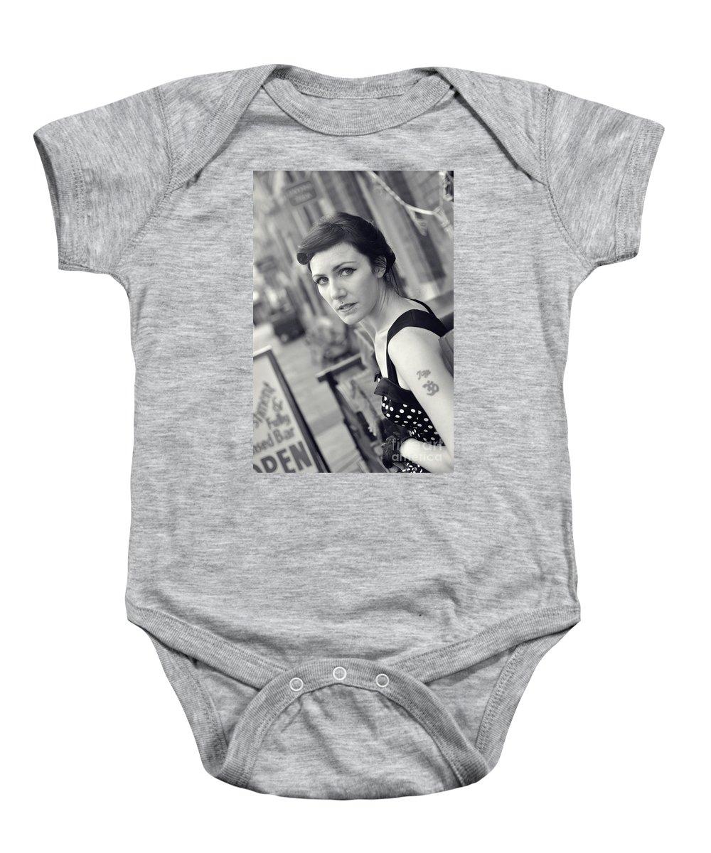 Yhun Suarez Baby Onesie featuring the photograph Sam2 by Yhun Suarez
