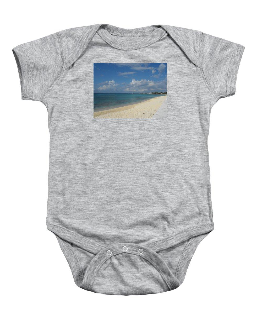 Beach Baby Onesie featuring the photograph Serenity by Sandra Vasko