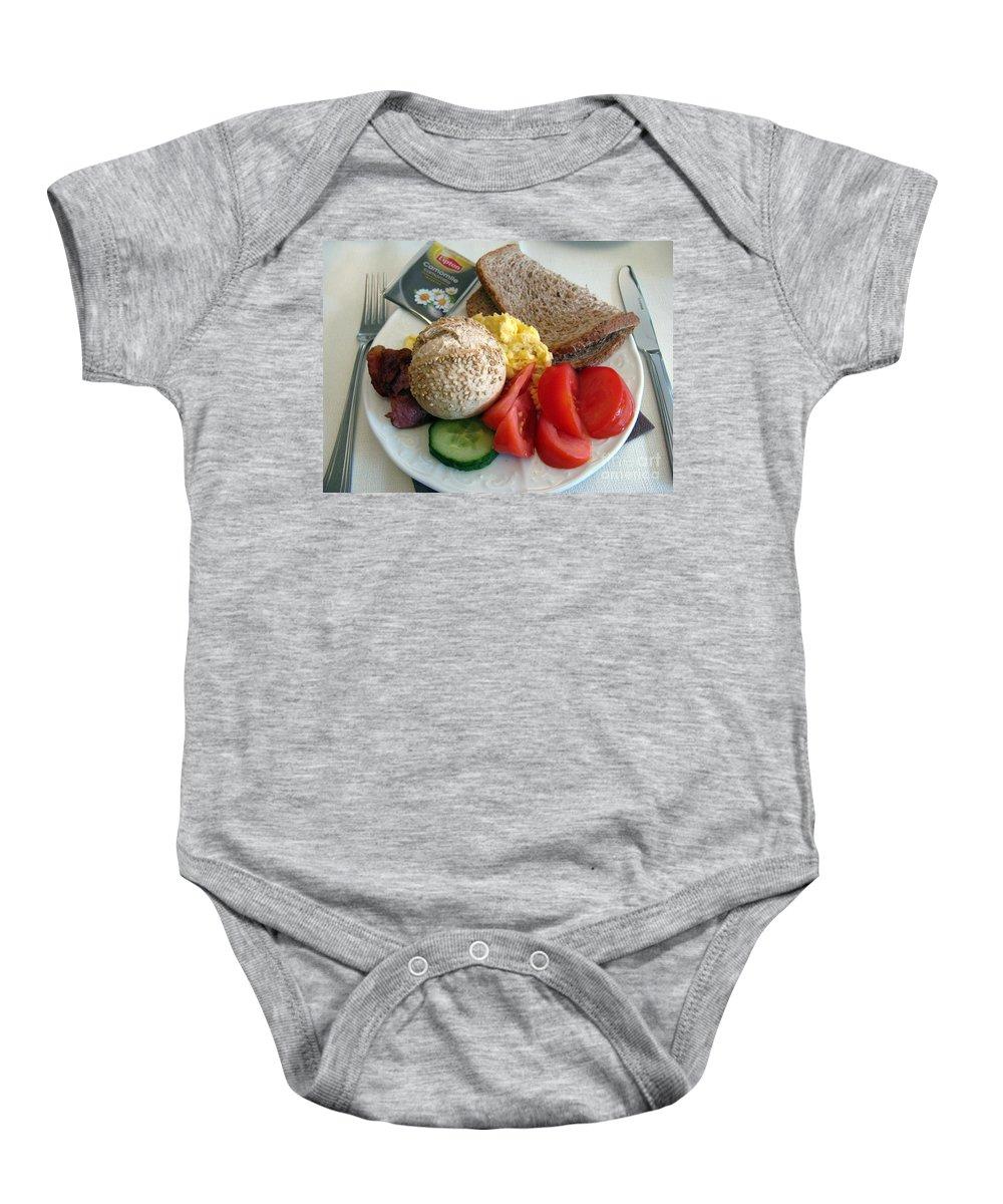 Food Baby Onesie featuring the photograph Simple Pleasures by Ausra Huntington nee Paulauskaite