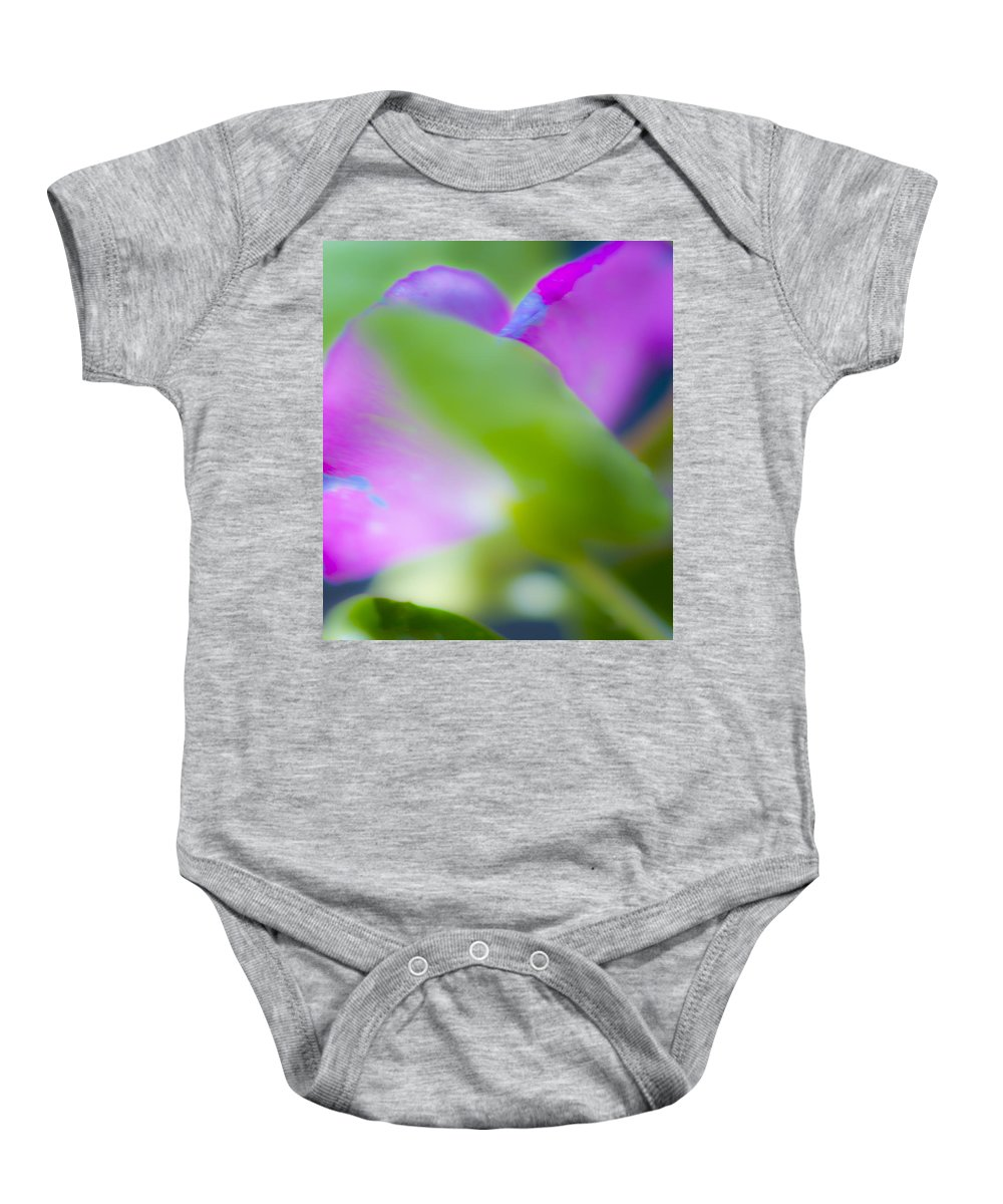 Flower Baby Onesie featuring the photograph Soft Harmonies by Stephen Anderson