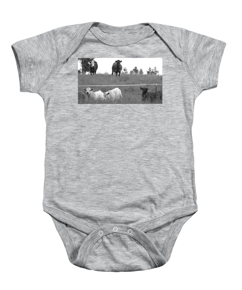 Animals Baby Onesie featuring the photograph Standing Guard by Rory Sagner