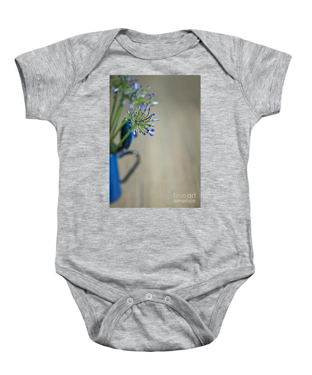 Still Baby Onesie featuring the photograph Still Life 02 by Nailia Schwarz