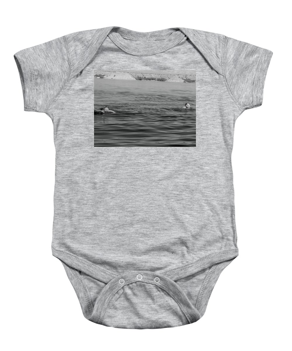 Lake Mead Baby Onesie featuring the photograph Summer At Lake Mead by Jonathan Barnes