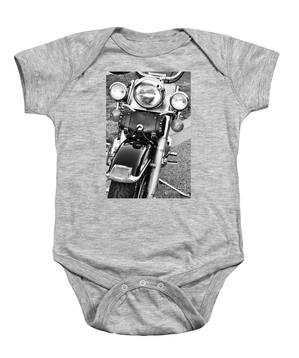 Motorcycle Baby Onesie featuring the photograph Summer Time by Traci Cottingham