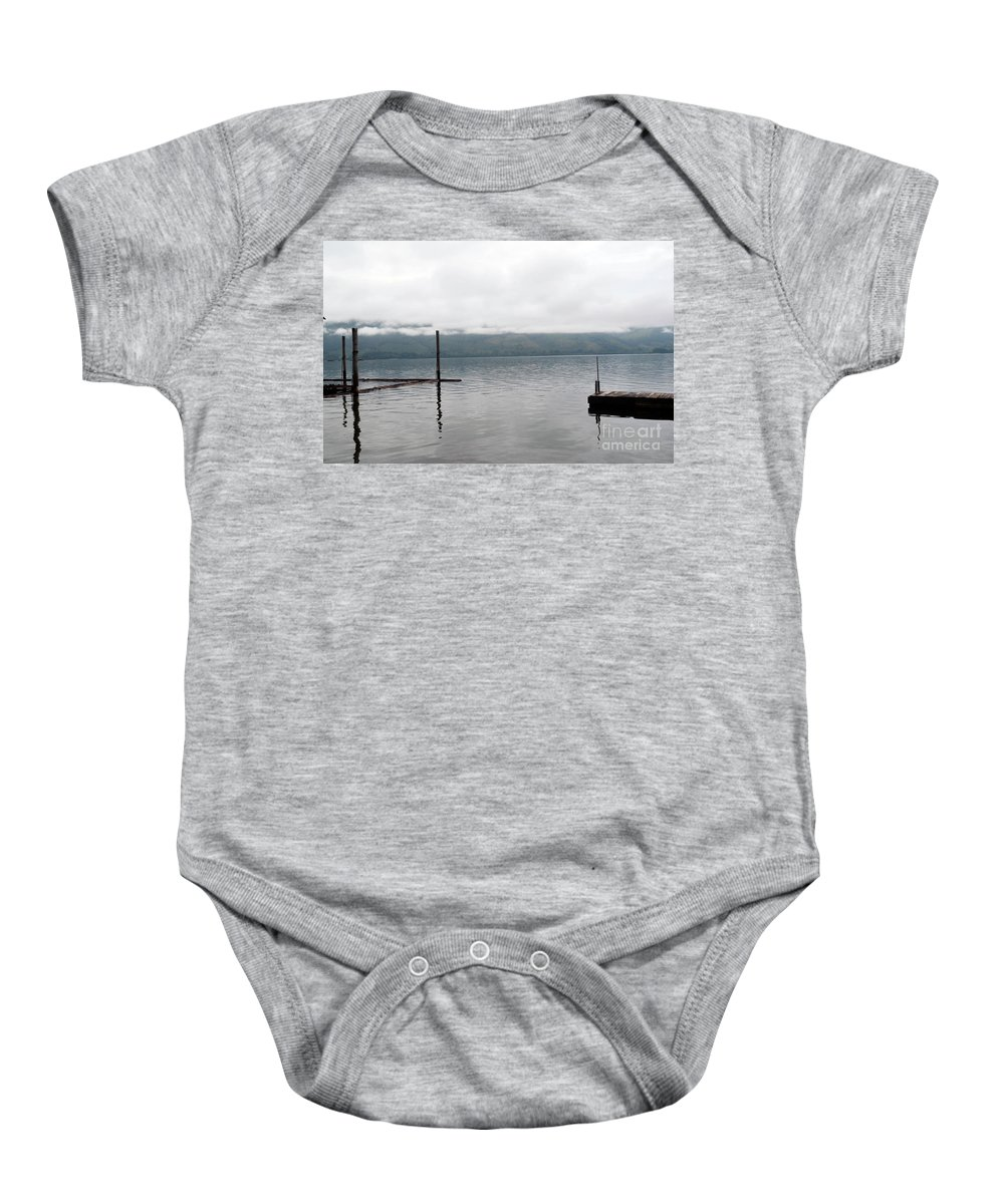 Ocean Baby Onesie featuring the photograph Sunrise by Traci Cottingham