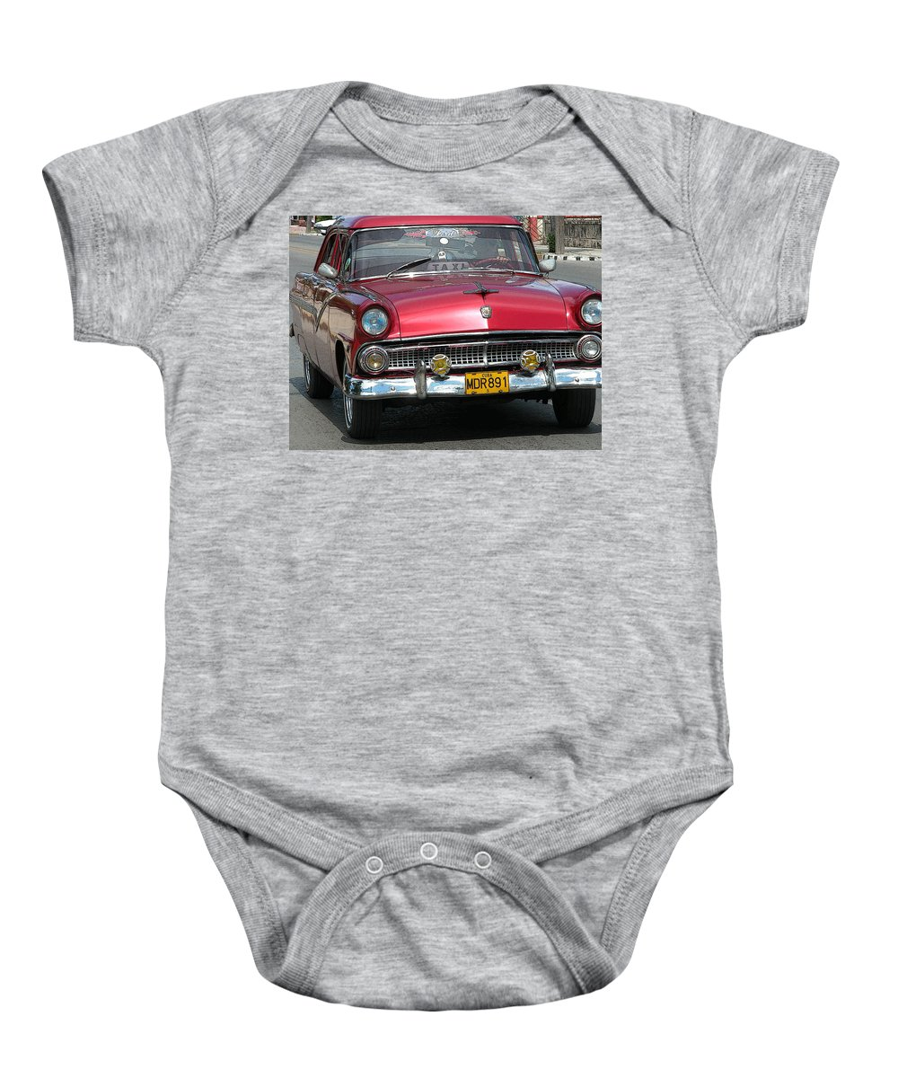 Digital Baby Onesie featuring the photograph Taxi by Dragan Kudjerski