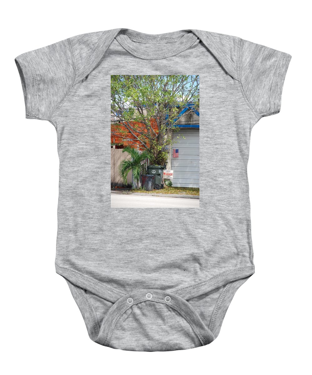 Tree Baby Onesie featuring the photograph The Corner by Rob Hans