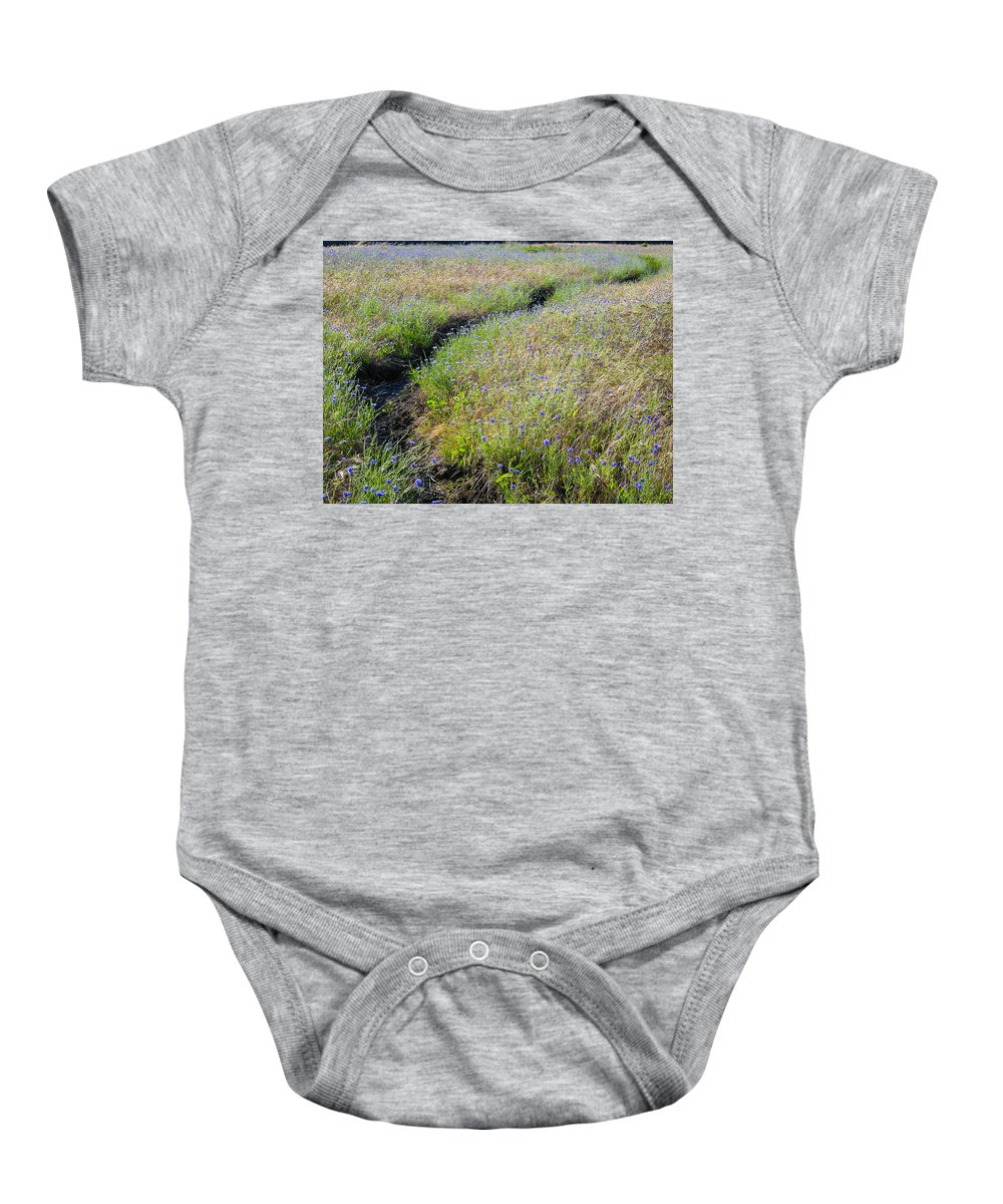 Path Baby Onesie featuring the photograph The Path by Mike Penney