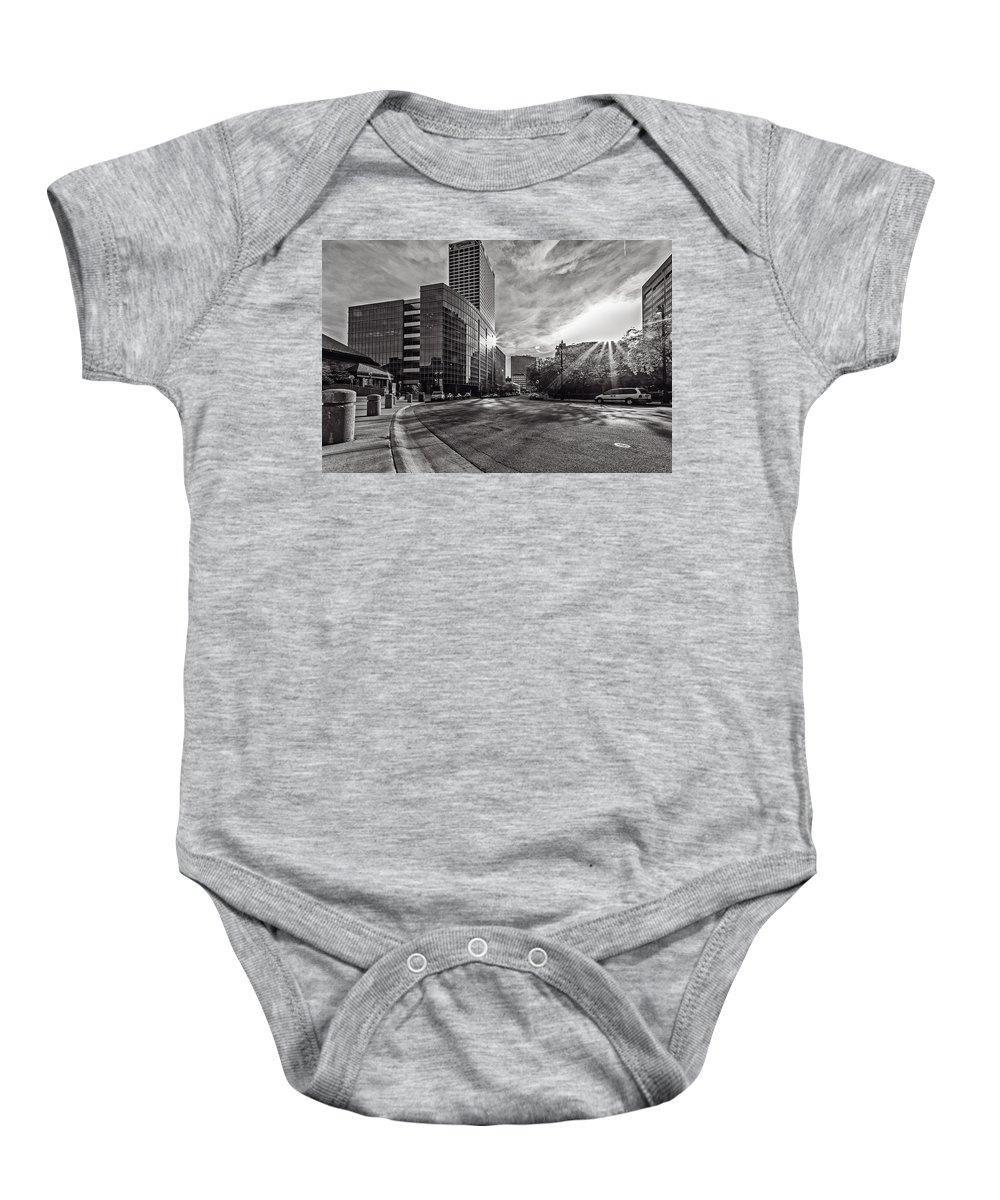 Cj Schmit Baby Onesie featuring the photograph Through The Curve by CJ Schmit