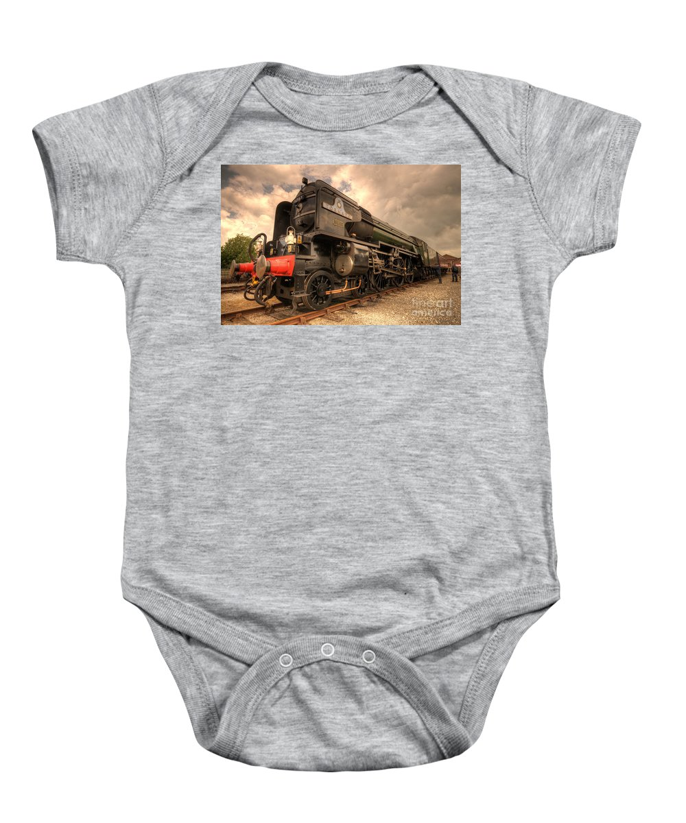 Tornado Baby Onesie featuring the photograph Tornado At York by Rob Hawkins