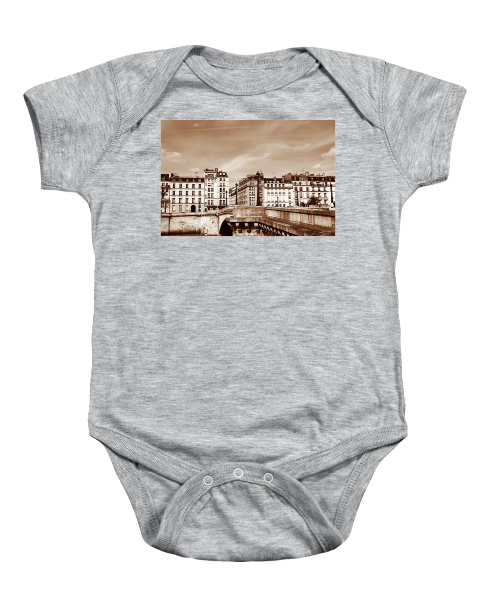 Paris Baby Onesie featuring the photograph Vintage Paris 8 by Andrew Fare