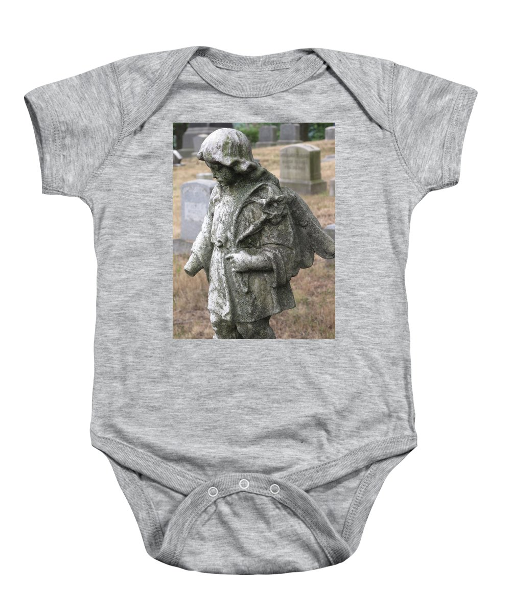 Statue Baby Onesie featuring the photograph Wandering by Michele Nelson