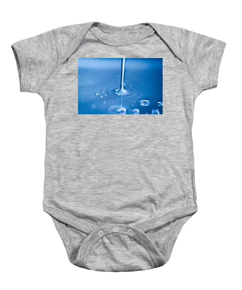Water Baby Onesie featuring the photograph Waterstream1 by Danielle Silveira