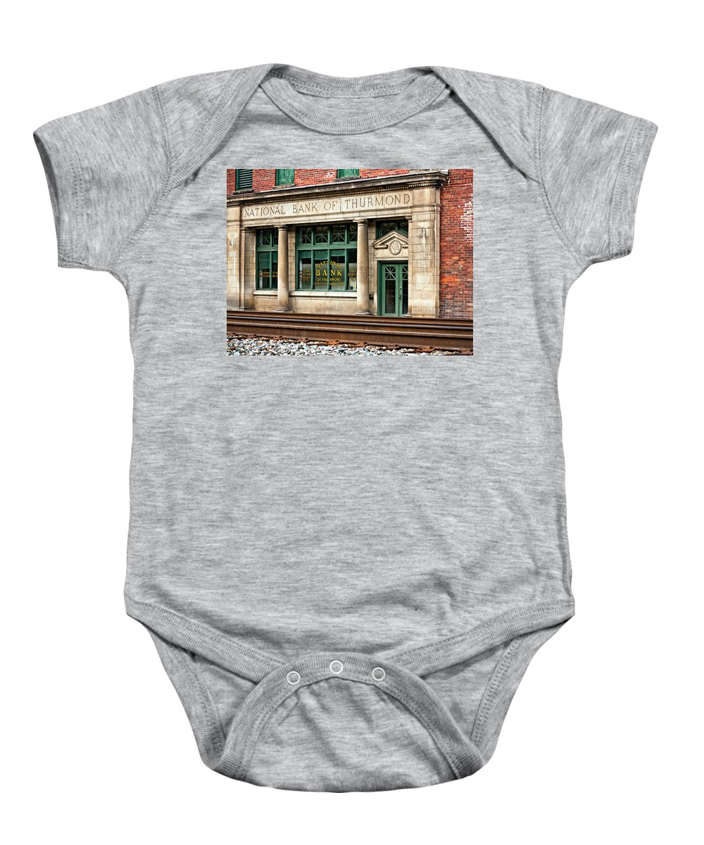Thurmond Baby Onesie featuring the photograph When Coal Was King by Steve Harrington