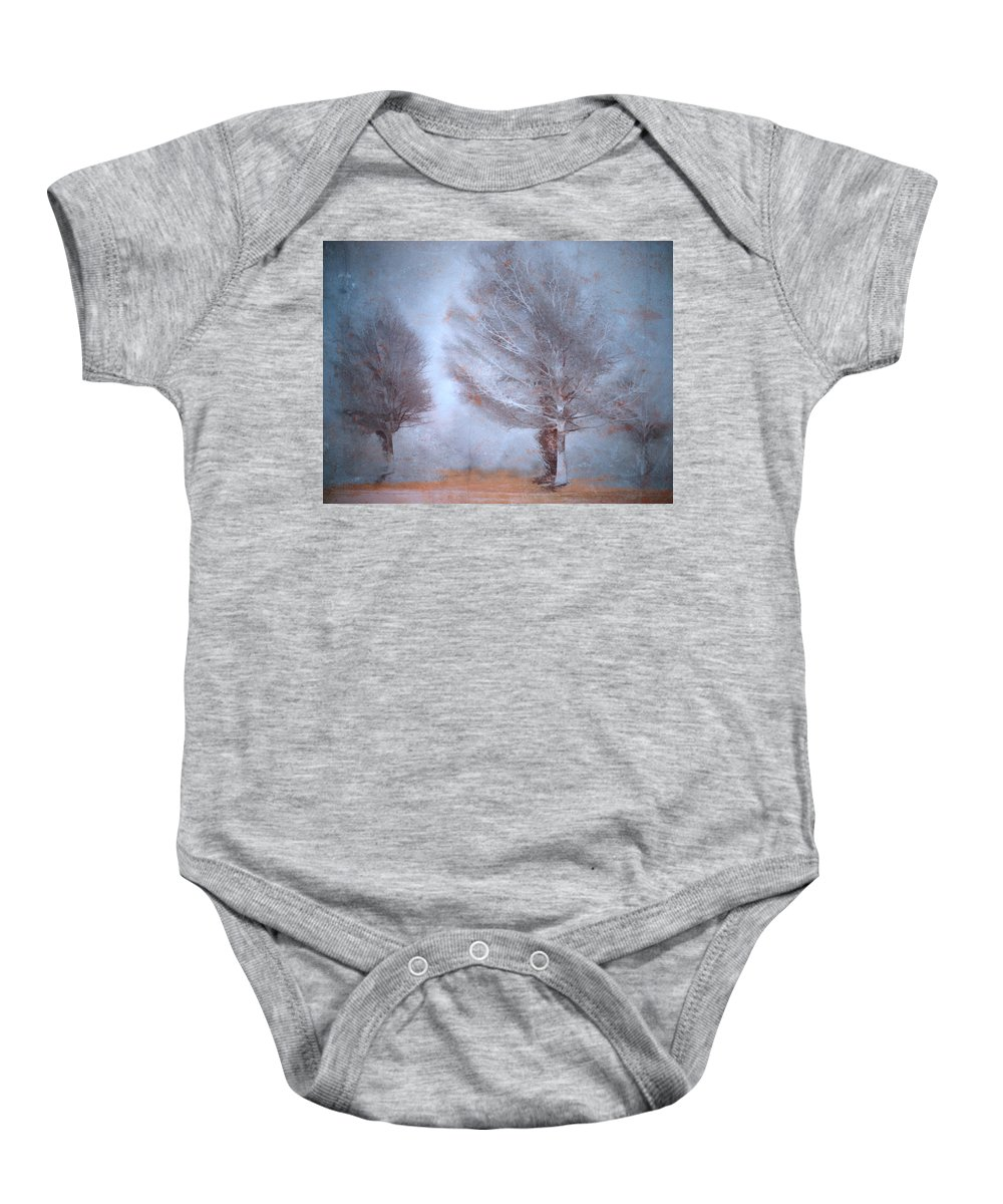Trees Baby Onesie featuring the photograph Whispers by Tara Turner