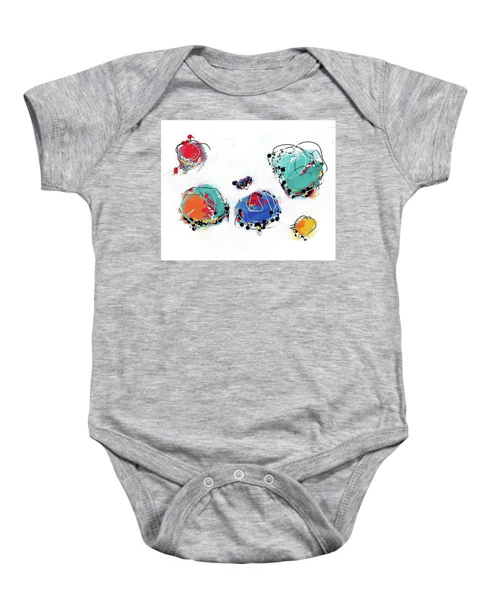 Painting Baby Onesie featuring the painting 070506ca by Toshio Sugawara