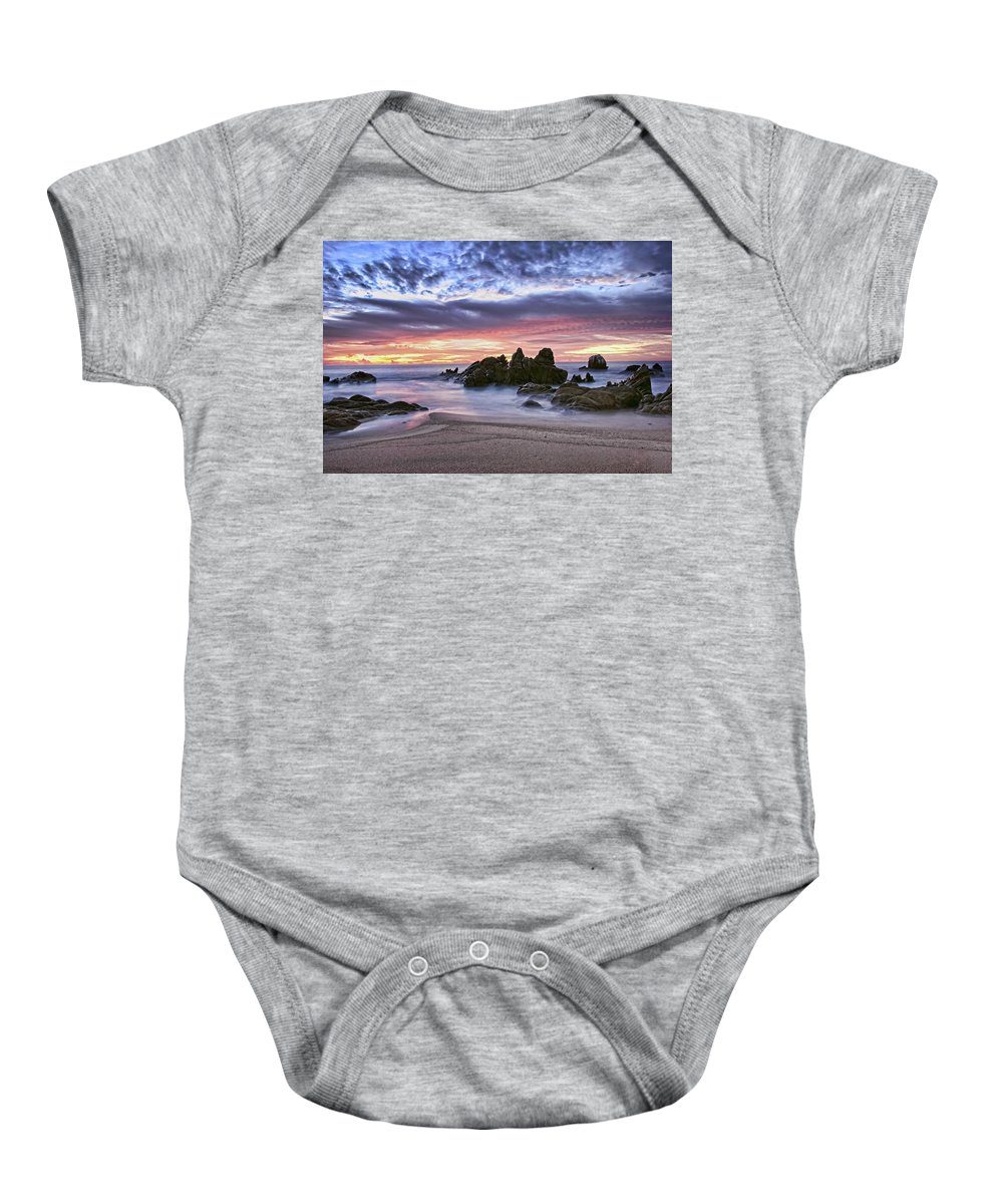 Landscape Baby Onesie featuring the photograph Cabo San Lucas by Marcia Colelli