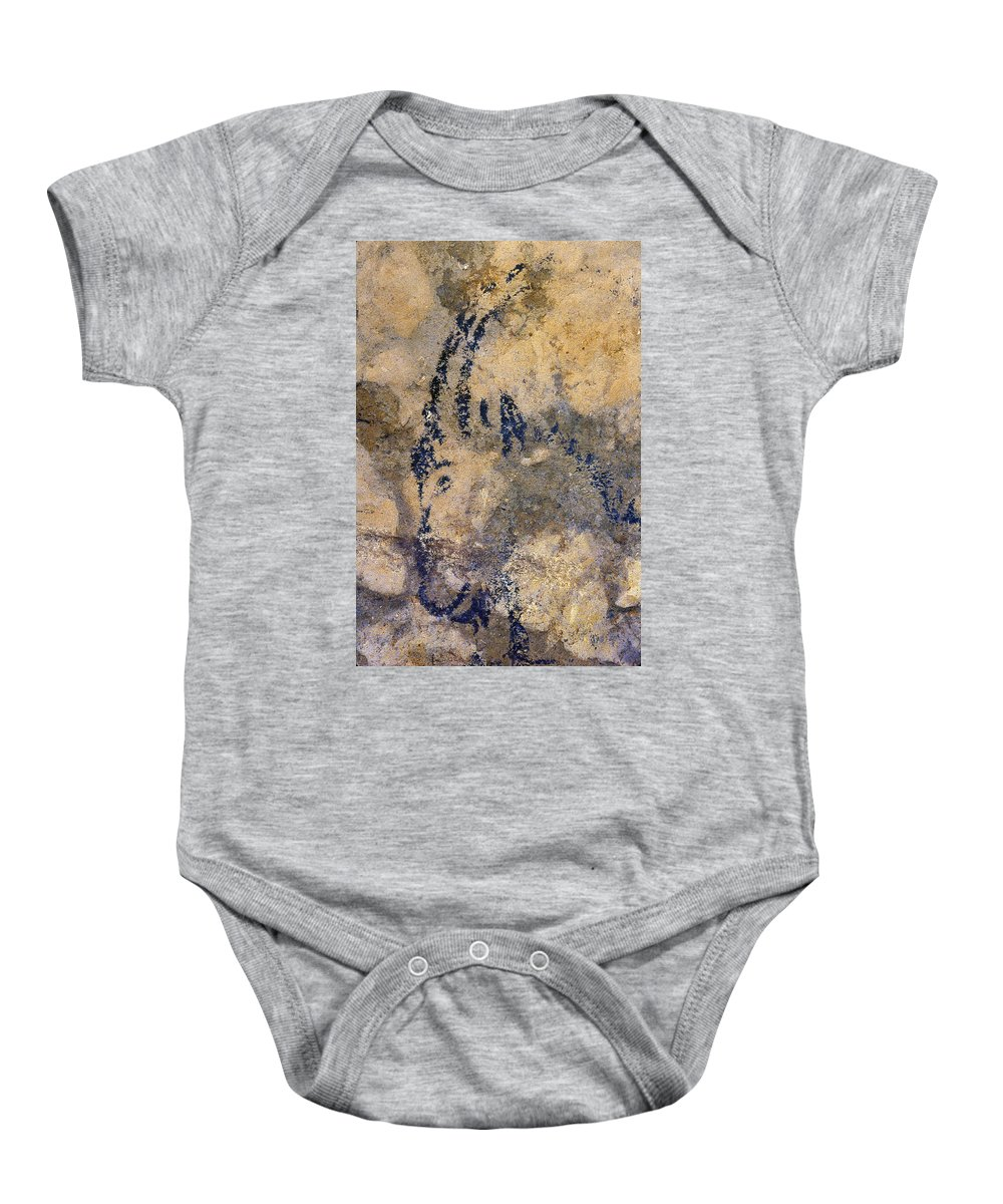10 Baby Onesie featuring the photograph Cave Art: Ibex by Granger