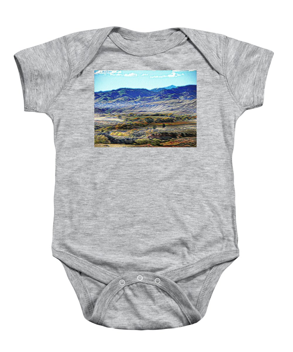 Expressive Baby Onesie featuring the photograph Colorado by Lenore Senior