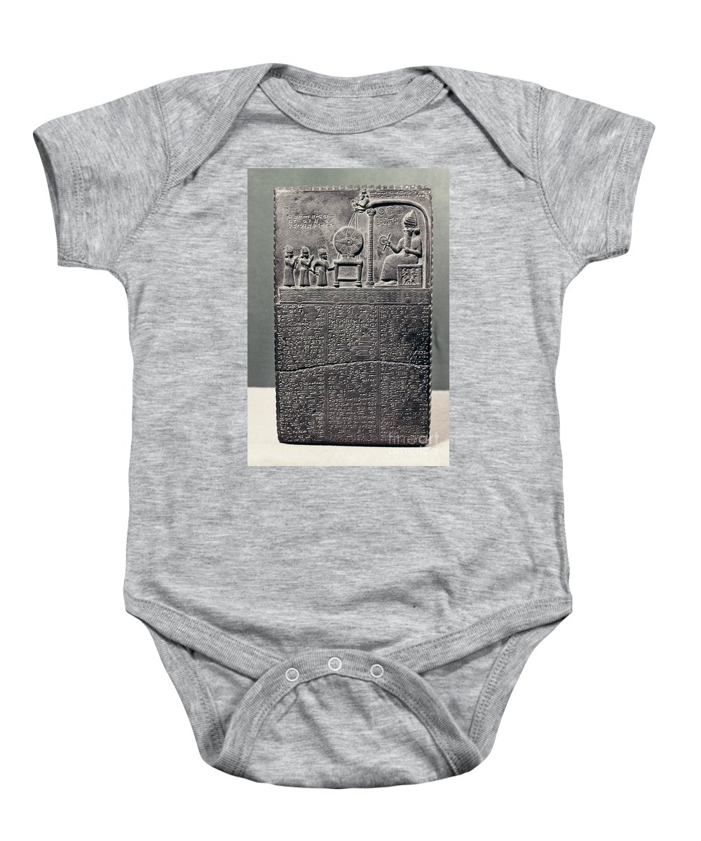 800 B.c. Baby Onesie featuring the photograph Cuneiform by Granger