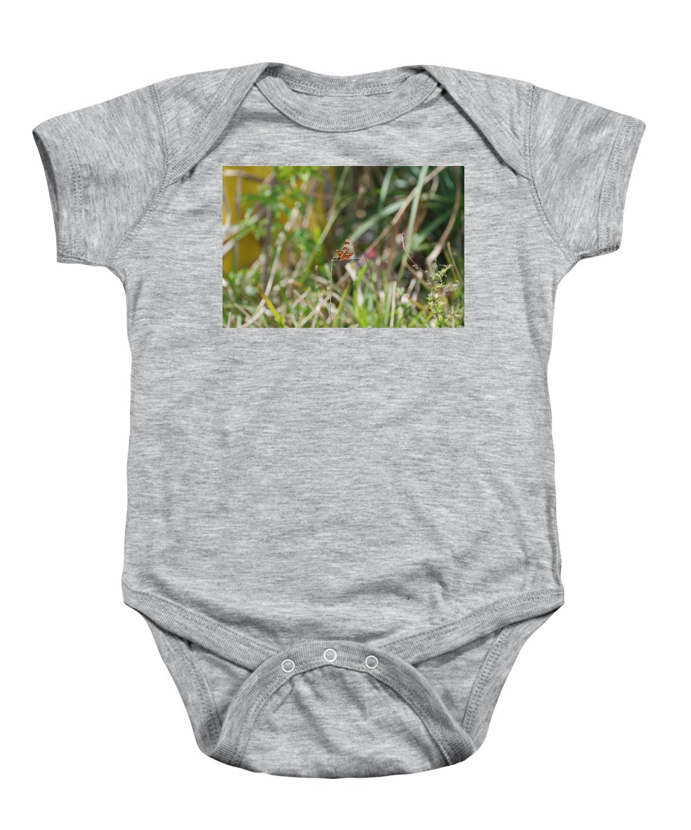 Nature Baby Onesie featuring the photograph Dragon Fly by Rob Hans