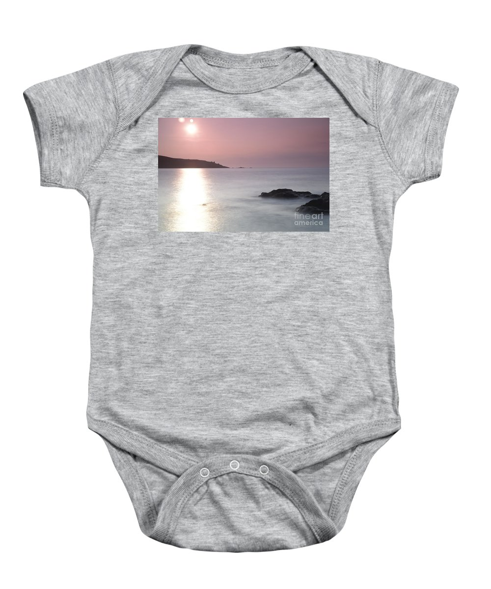 Fine Art- St Ives At Sunset By Phill Potter Baby Onesie featuring the photograph Fine Art - St Ives by Jenny Potter
