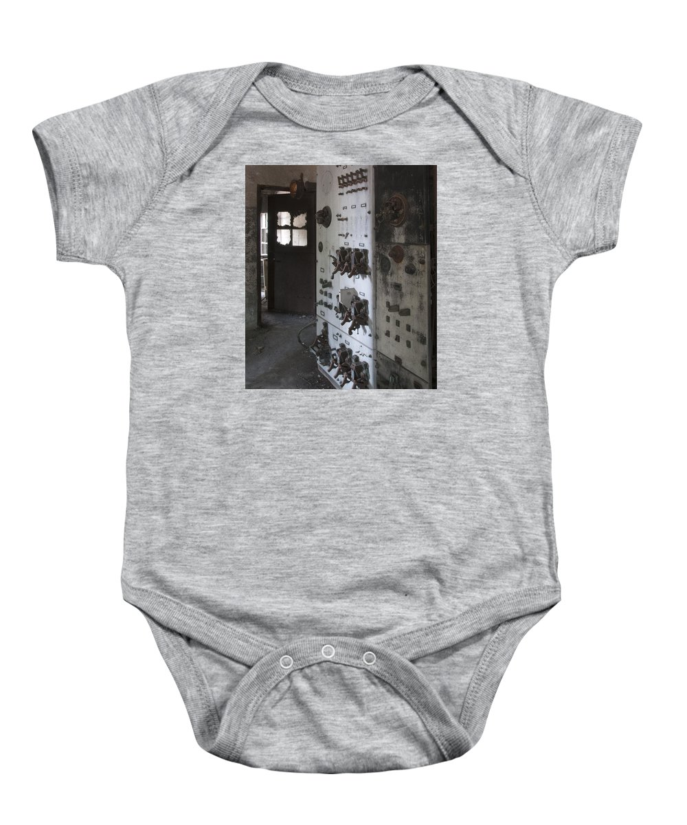 Ft Baby Onesie featuring the photograph Fort Totten 6753 by Bob Neiman