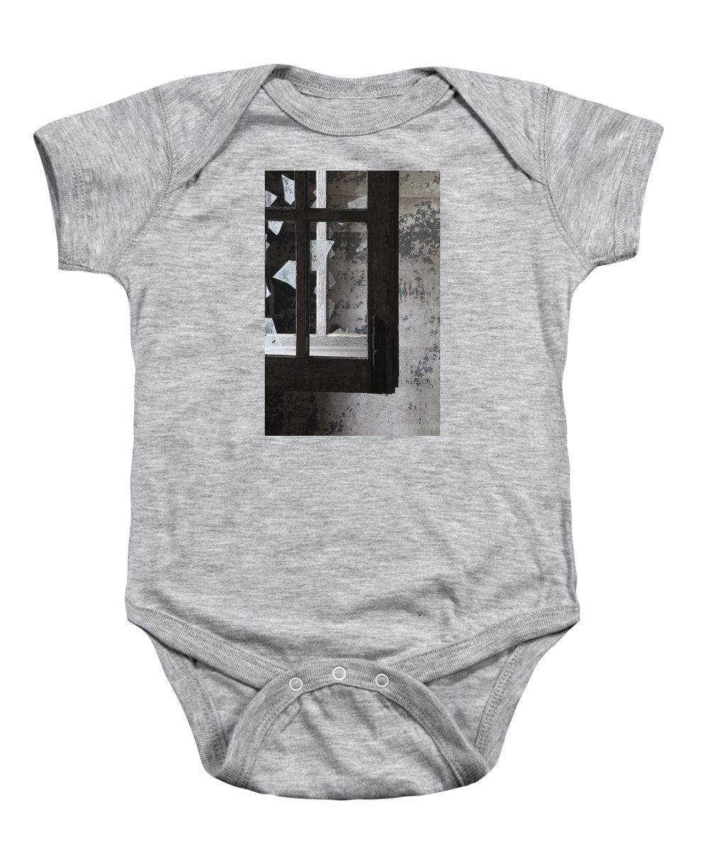 Ft Baby Onesie featuring the photograph Fort Totten 6758 by Bob Neiman