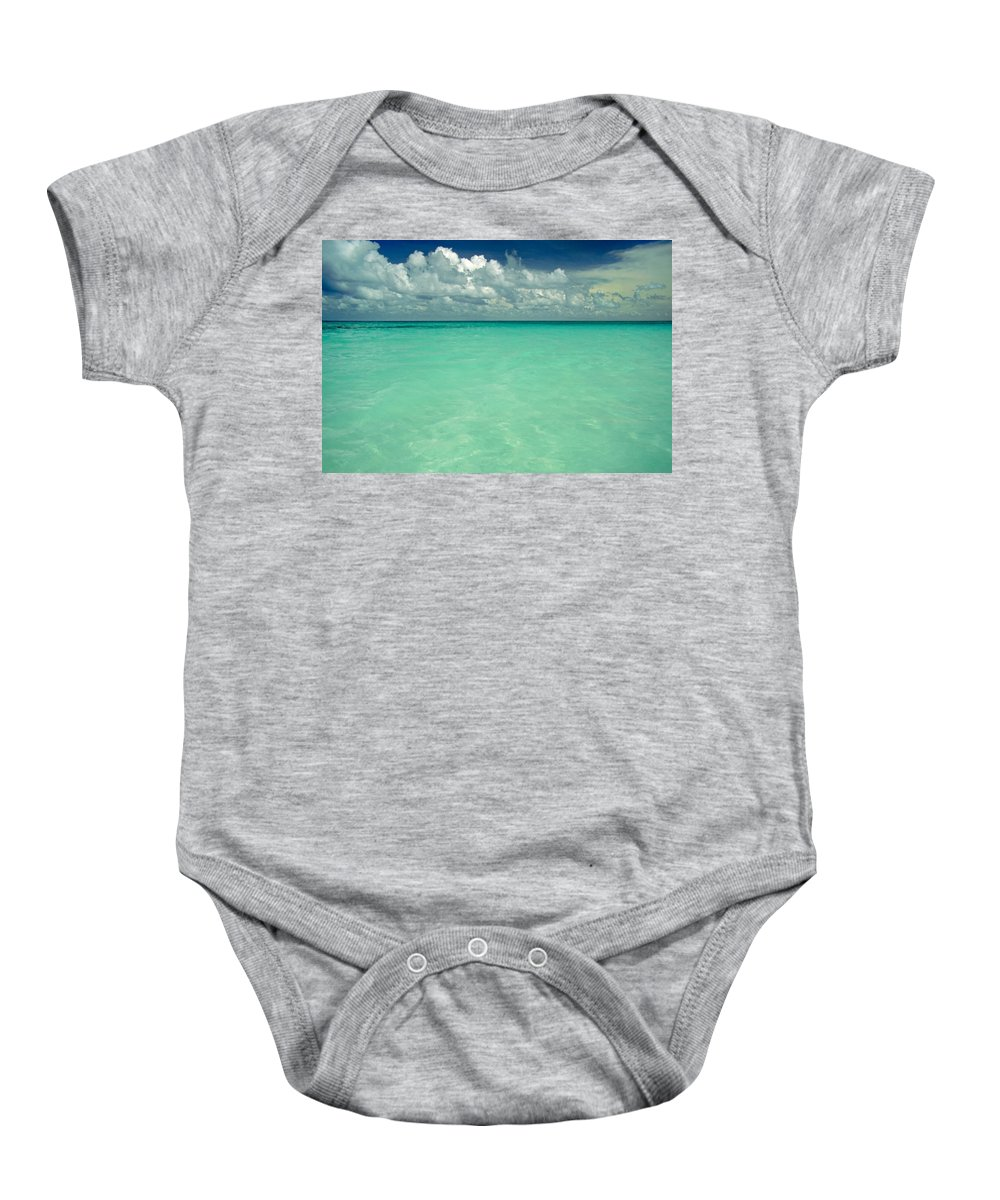 Belize Baby Onesie featuring the photograph Heaven by Skip Hunt