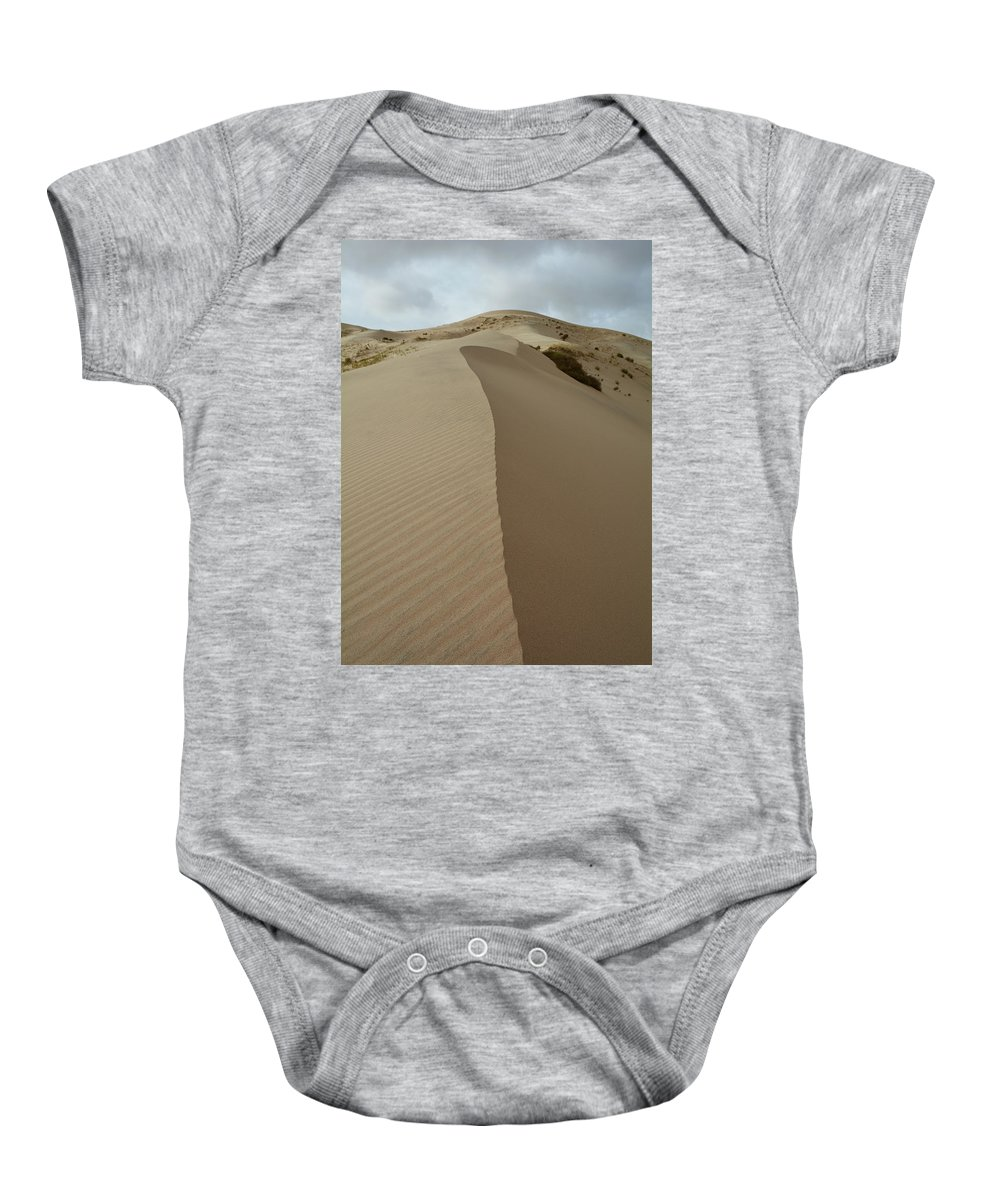 Mojave Desert Baby Onesie featuring the photograph Kelso Dunes Mojave Portrait by Kyle Hanson