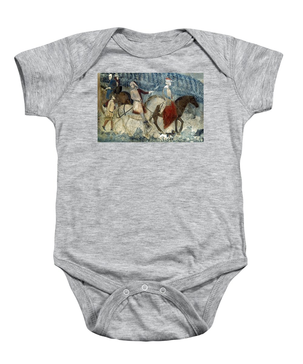 14th Century Baby Onesie featuring the photograph Lorenzetti: Good Govt by Granger