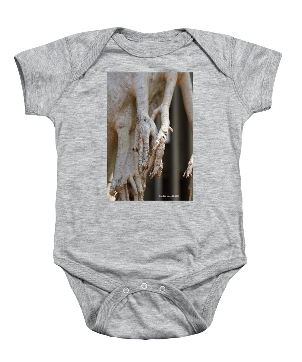 Praying Hands Baby Onesie featuring the photograph Nature by Shelley Jones