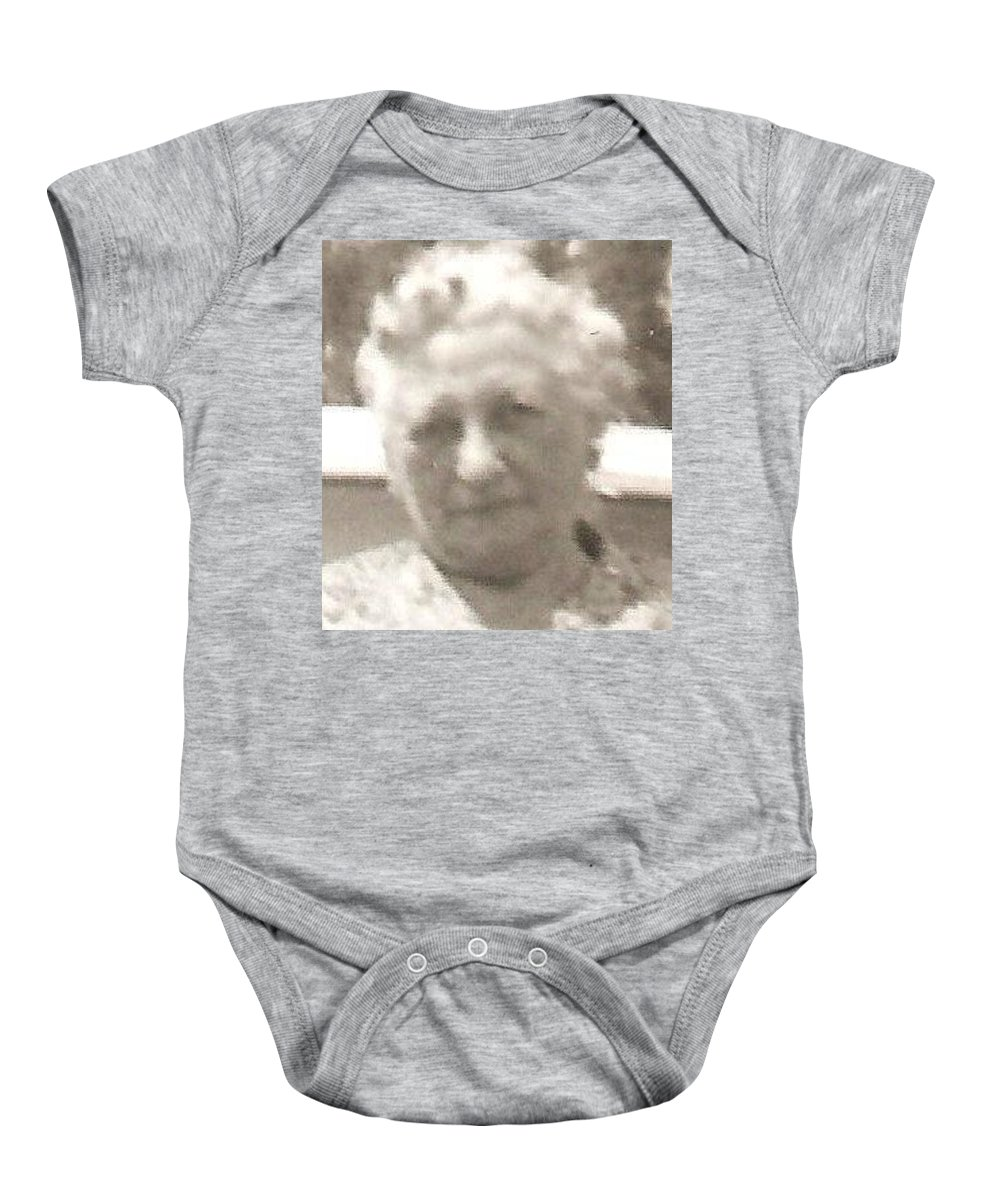 Baby Onesie featuring the photograph Rosa by Carole Spandau