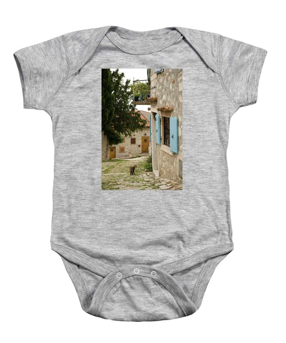 Croatia Baby Onesie featuring the photograph Rovinj by Ian Middleton