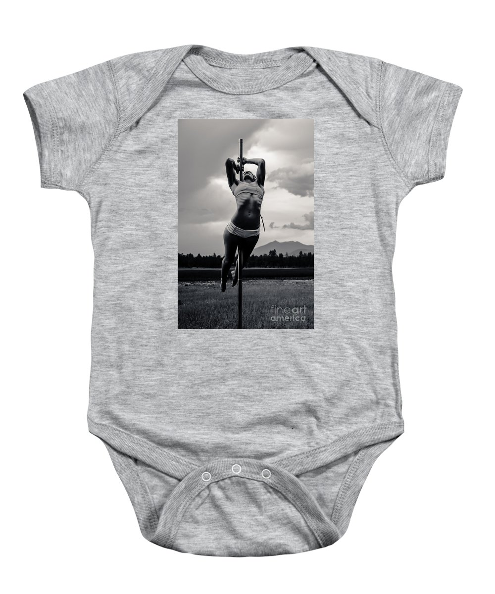 Location Baby Onesie featuring the photograph Strength by Scott Sawyer