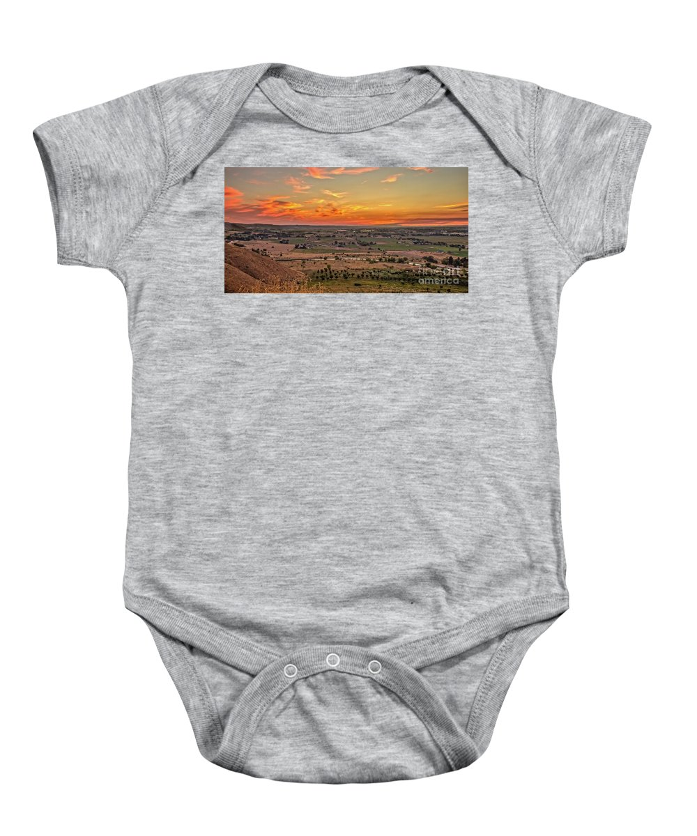 North Rim Baby Onesie featuring the photograph The View by Robert Bales