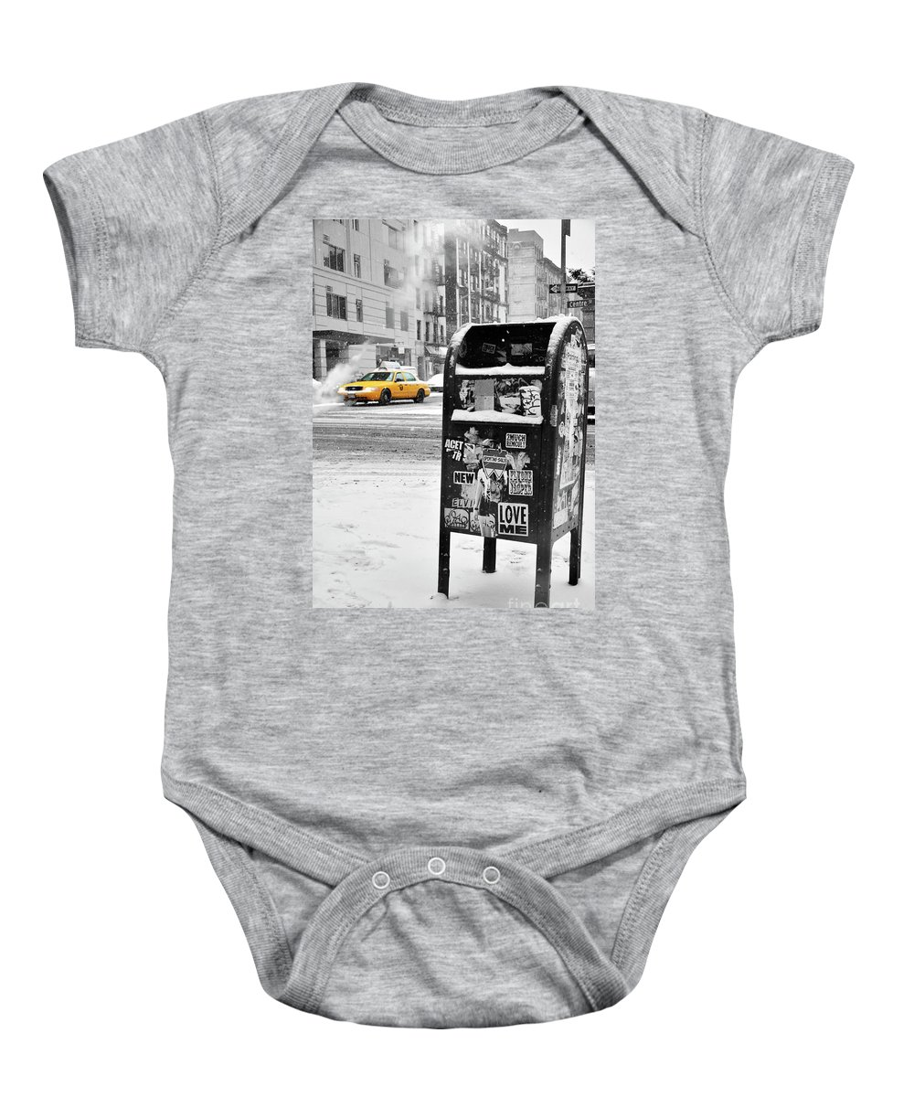 Snow Baby Onesie featuring the photograph Winter Is Coming by Fernando Tobar