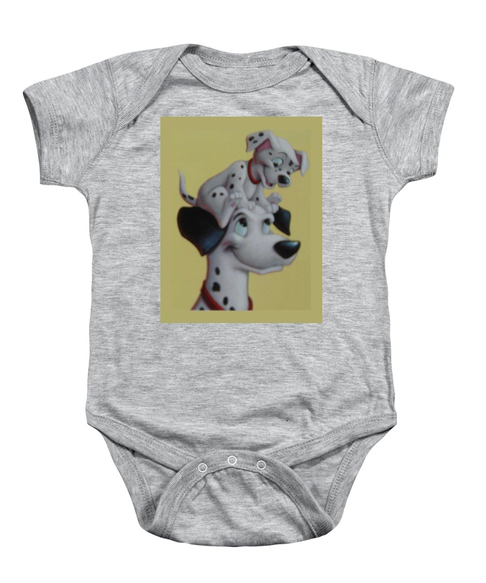 Disney Baby Onesie featuring the photograph 101 by Rob Hans