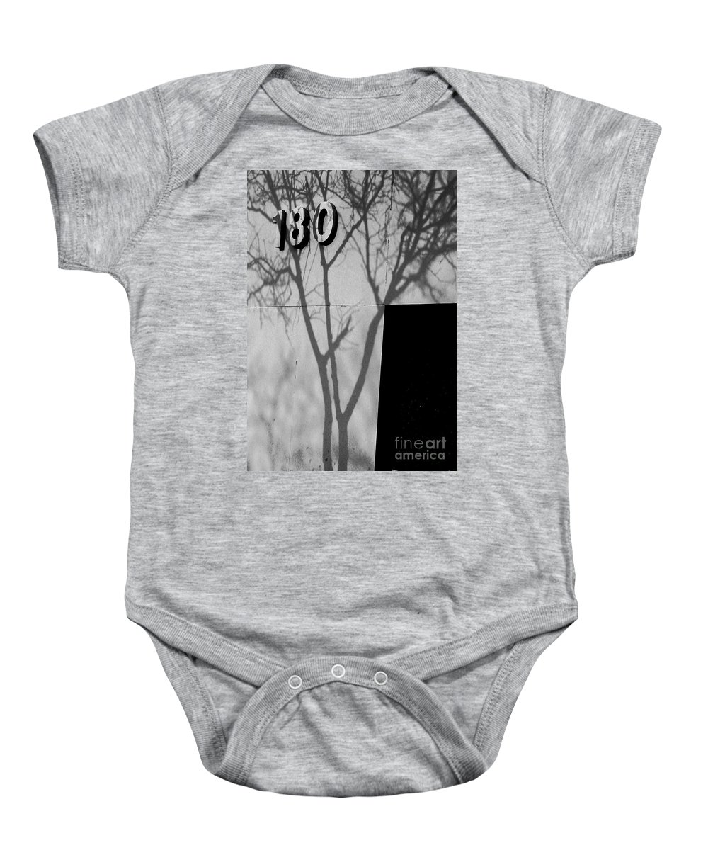 180 Baby Onesie featuring the photograph 180 by Chris Fleming