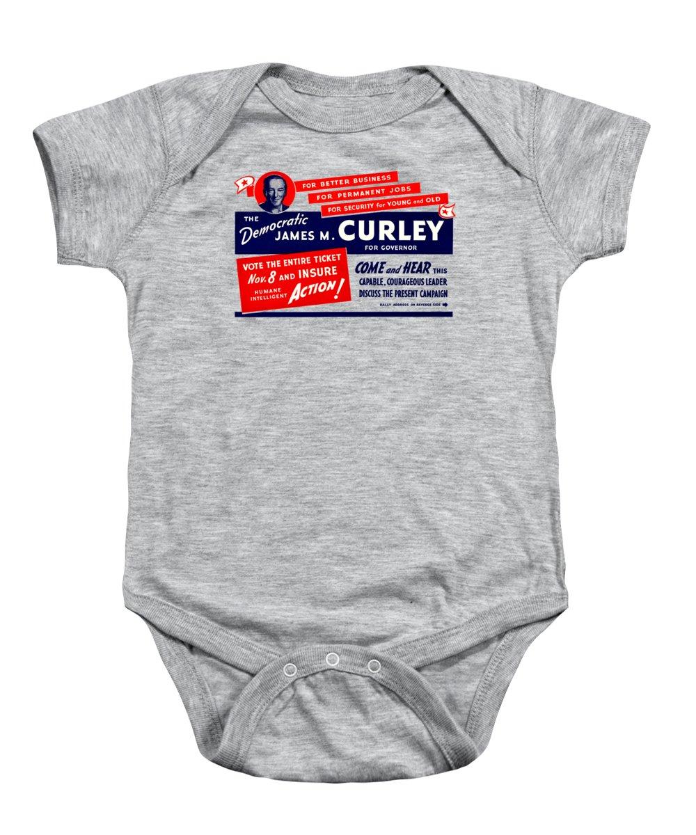 1934 James Michael Curley Baby Onesie