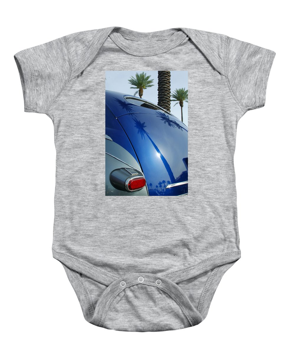 Car Baby Onesie featuring the photograph 1946 Steel Body Gm by Jill Reger